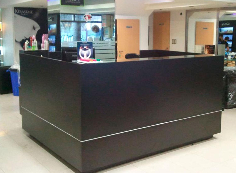 Muebles recepci n bellmatic for Muebles para oficina en argentina
